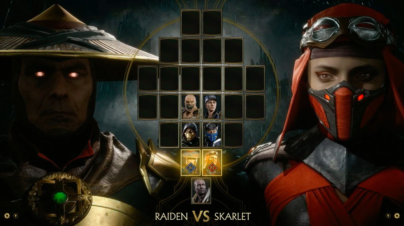 MK11 Character Roster